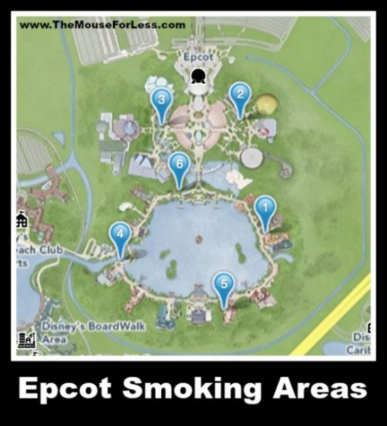 Epcot Designated Smoking Areas