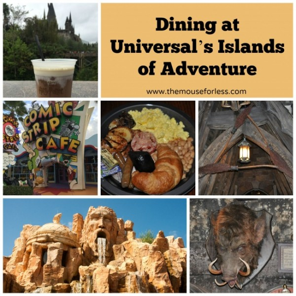 Islands of Adventure Dining Guide