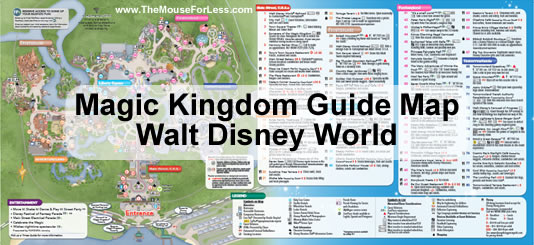 Buzz Lightyear's Space Ranger Spin on Magic Kingdom Guide Map