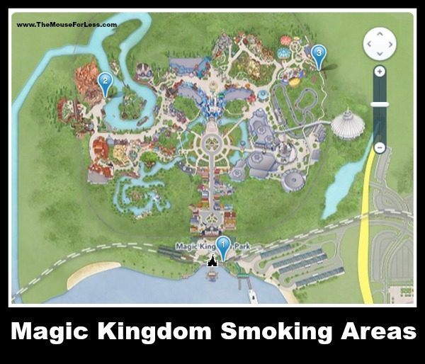 Magic Kingdom Smoking Areas - Walt Disney World Designated Smoking Areas