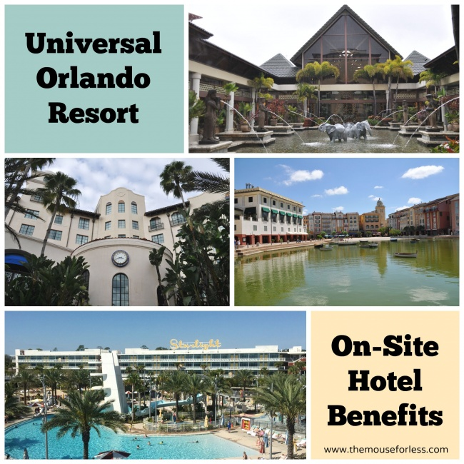 Universal On Site Hotel Benefits