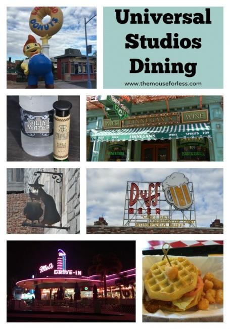 Universal Studios Dining Guide