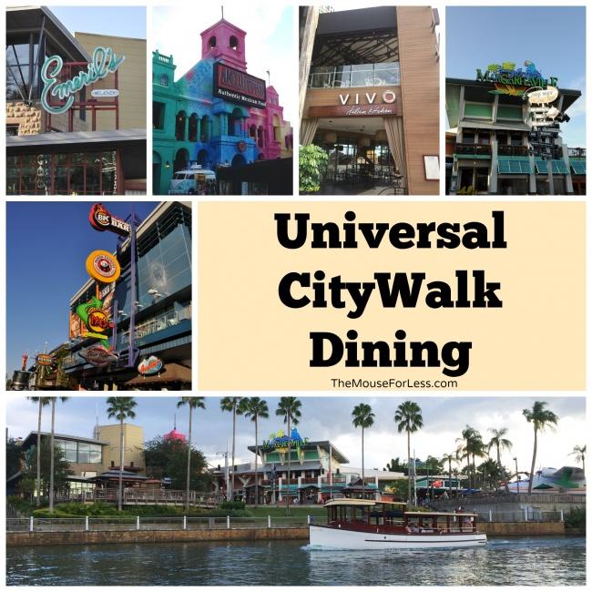 Universal Citywalk dining