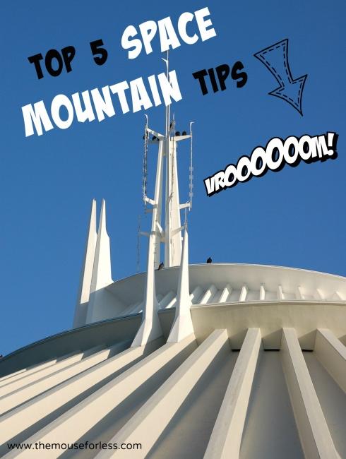Top 5 Space Mountain Tips