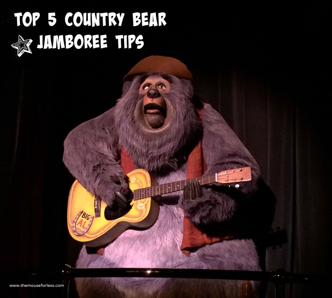 Country Bear Jamboree Top 5 Tips