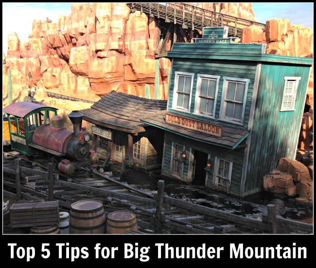 top 5 Big Thunder Mountain Railroad