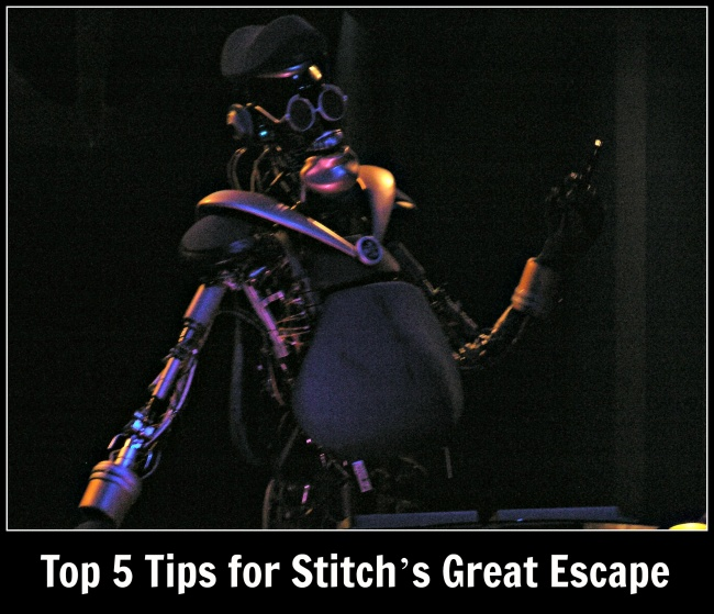 top 5 Stitch's Great Escape