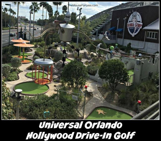Hollywood Drive-In Golf at Universal Orlando