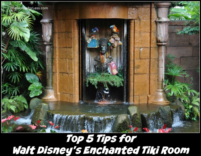 Enchanted tiki room tips