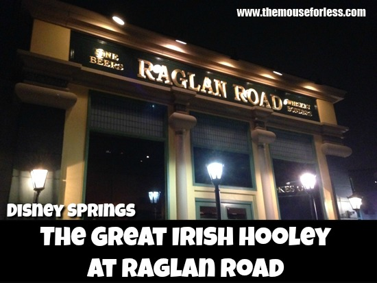 The Great Irish Hooley at Raglan Road