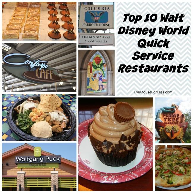 Top Ten Quick Service Restaurants At Walt Disney World - Walt disney world table service restaurants