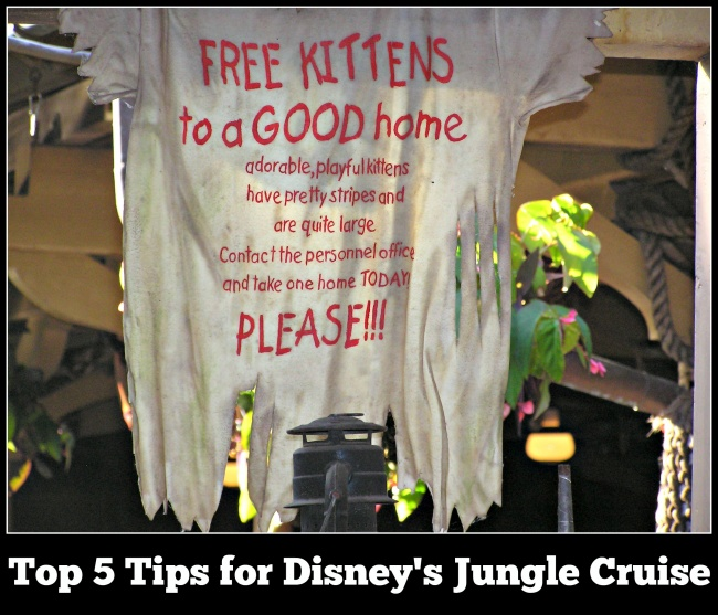 Top 5 for Jungle Cruise