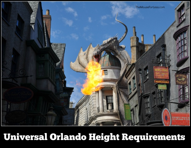 Universal Orlando Height Requirements