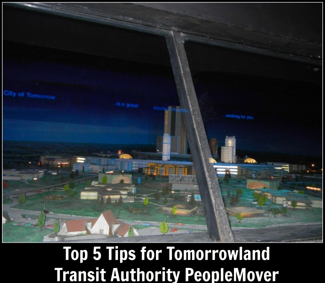top 5 Tomorrowland Transit Authority PeopleMover