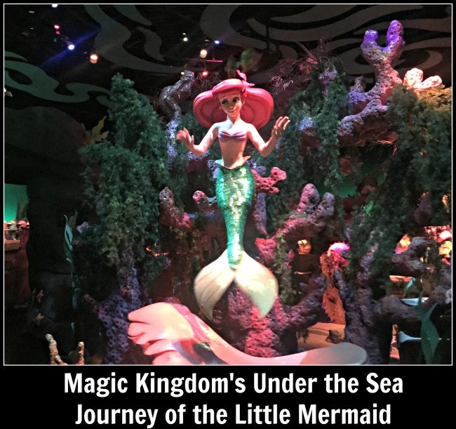 Magic Kingdom's Under the Sea Journey of the Little Mermaid