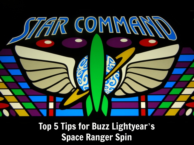 top 5 Buzz Lightyear's Space Ranger Spin