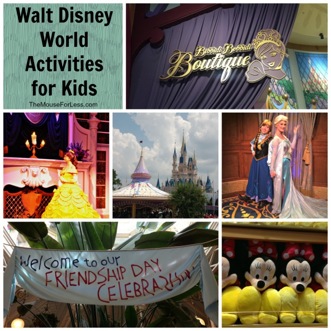 Walt Disney World Activities for kids