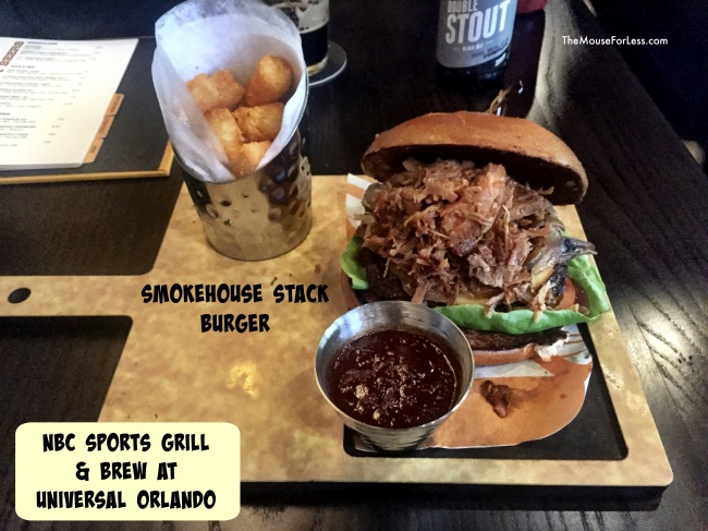 NBC Sports Grill & Brew Menu NBC burger