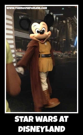 Star Wars at Disneyland
