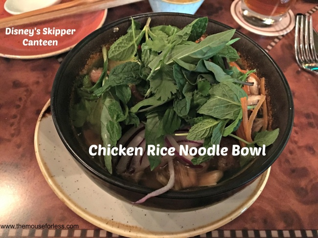 Jungle Skipper Canteen Chicken Rice Noodle Bowl