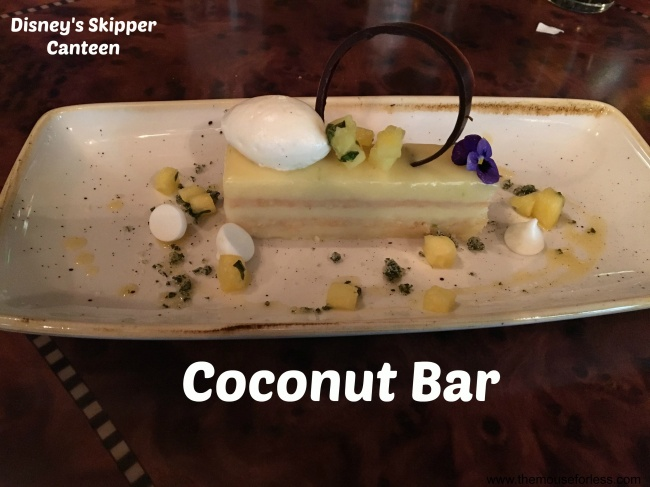 Jungle Skipper Canteen Coconut Bar
