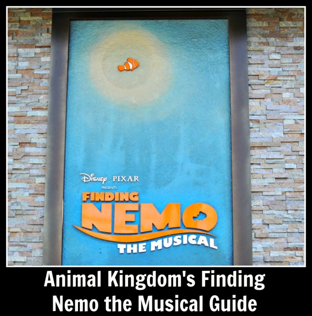 Finding Nemo the Musical Guide