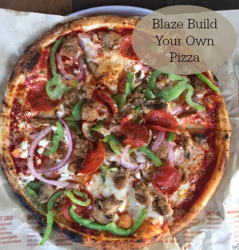 Blaze Build Your Own Pizza