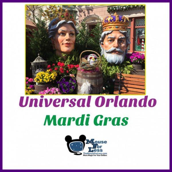 Mardi Gras at Univesal Orlando