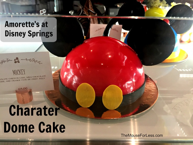 Amorette S Patisserie Mickey Character Cake