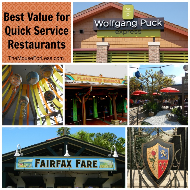 Best Quick Service Restaurant Values