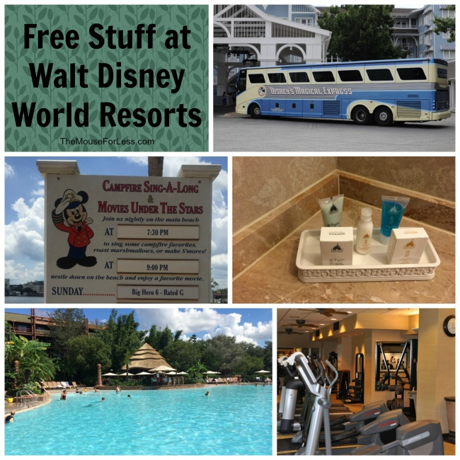 Free Things At All Resorts