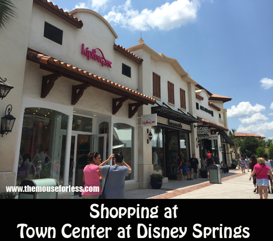 Shopping at Town Center at Disney Springs