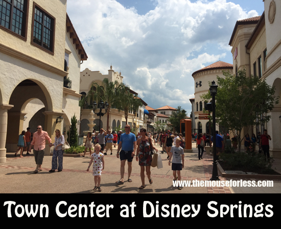 Town Center at Disney Springs