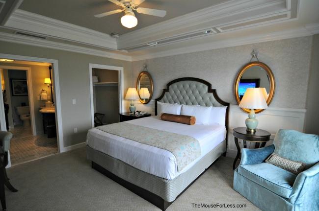 bedroom grand villa at the villas at disney s grand floridian