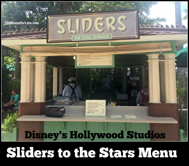 Sliders to the Stars menu
