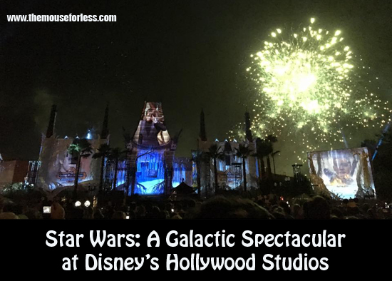 Star Wars Fireworks 2