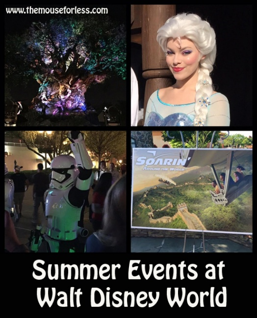 Summer Events at Walt Disney World 2