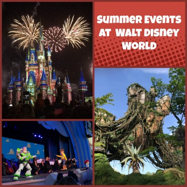 Walt Disney World Summer Events
