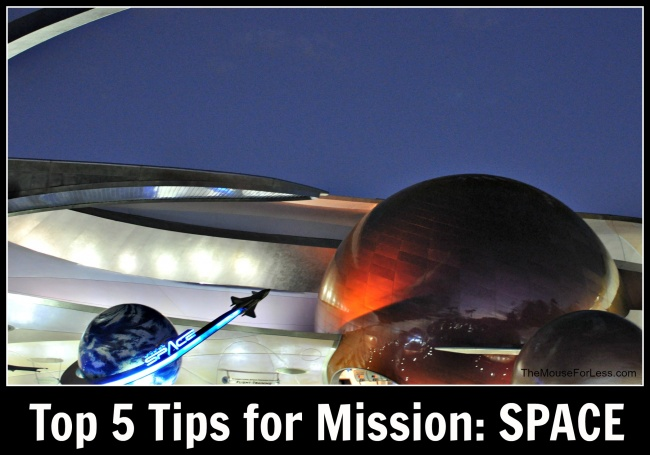 Top 5 Tips Mission SPACE