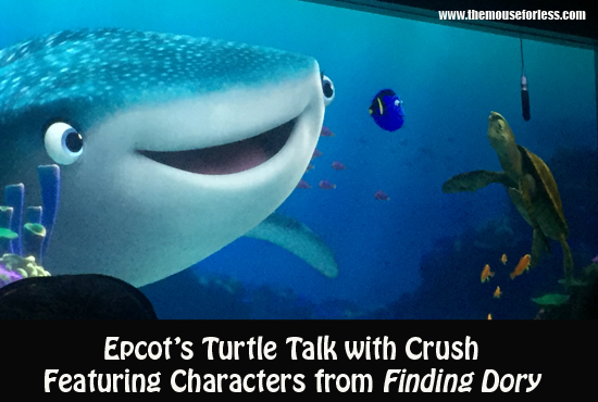 Turtle Talk with Crush Featuring Dory