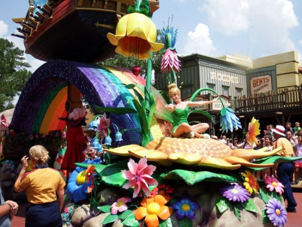 Tink in Festival of Fantasy Parade