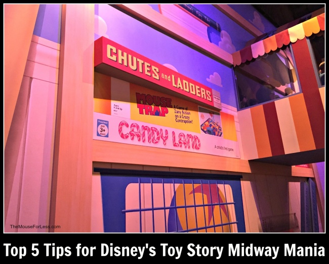 Top 5 Toy Story Midway Mania