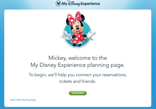adding plans to My Disney Experience AddingReservations2