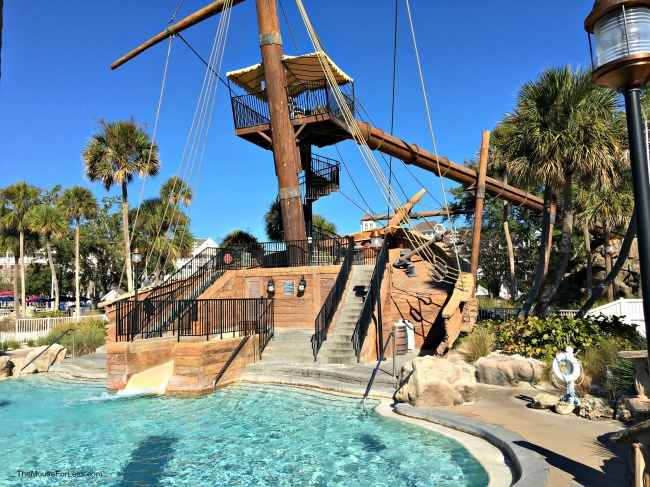 Yacht Club Resort Slide Pool