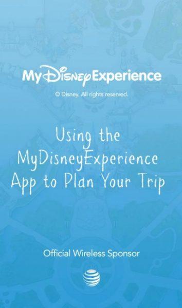 MyDisneyExperience App