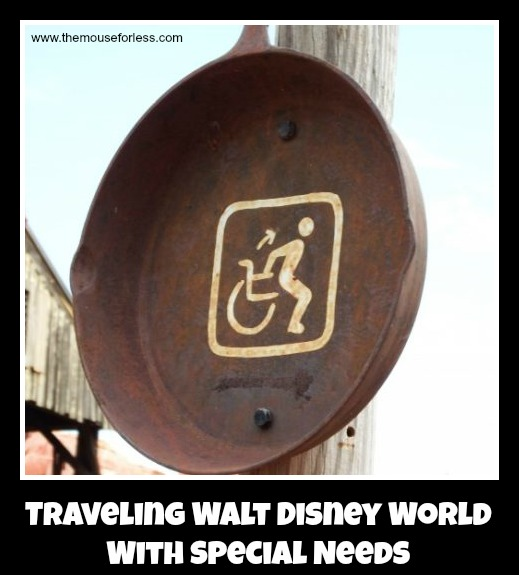 Traveling Walt Disney World with Special Needs