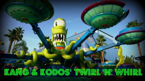 Kang & Kodos' Twirl 'n' Hurl