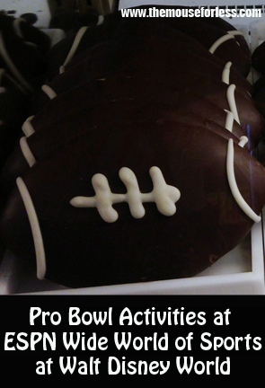 pro bowl activities at walt disney world