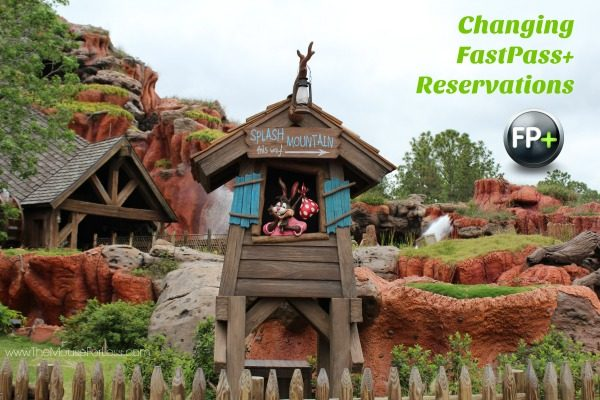 Changing FastPass+ Reservations