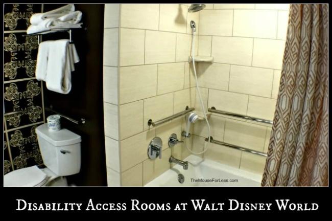 Disability Access Rooms at Walt Disney World